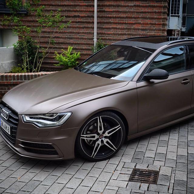 Audi A6 Quot Matt Frozen Bronze Metallic Quot Www Wrapping Point D