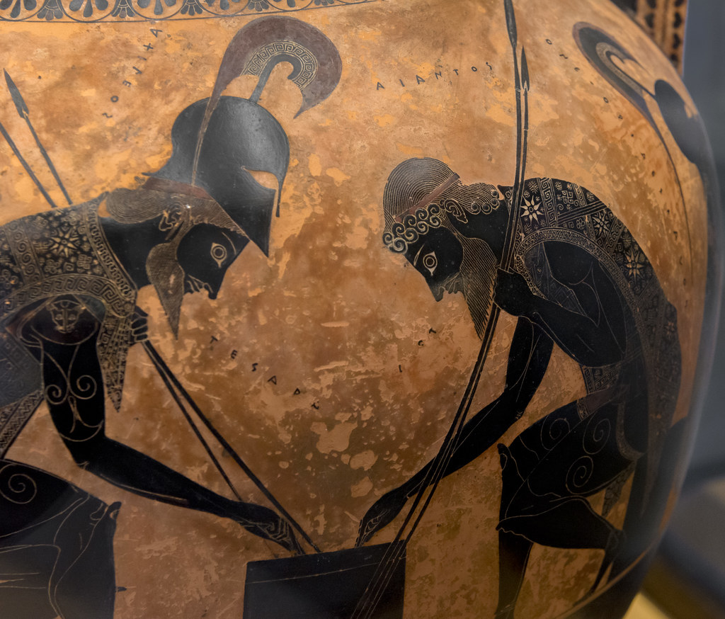 I : [A] Achilles And Ajax By Exekias