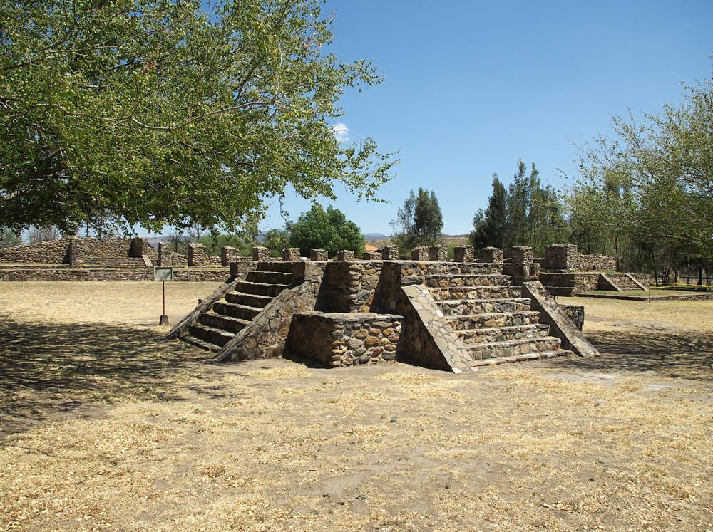 """Nayarit Zona arqueol�gica de Ixtl�n del Ri�: �los """"Toriles ..."""