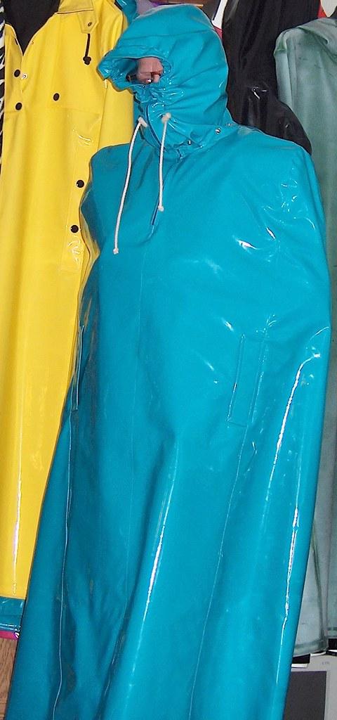 Shiny Vinyl Burka Capes The Burka Cape Without Burka