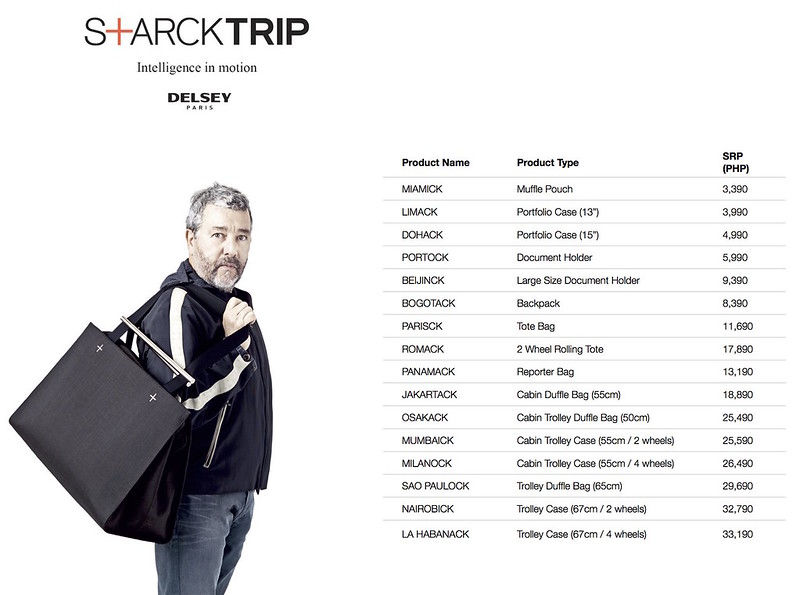 STARKTRIP PRICE LIST