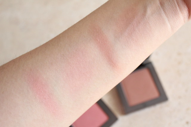 Urban decay Afterglow 8-Hour Blush in Score swatches