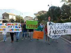 sciopero studenti oliveto citra 03