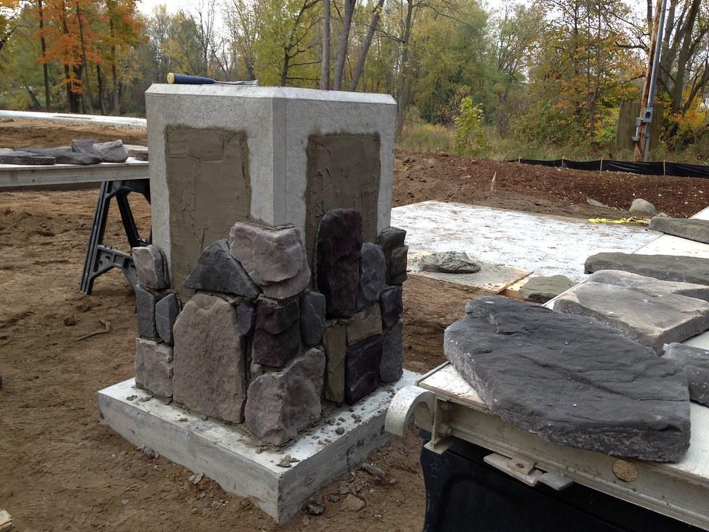 custom brickledge foundation
