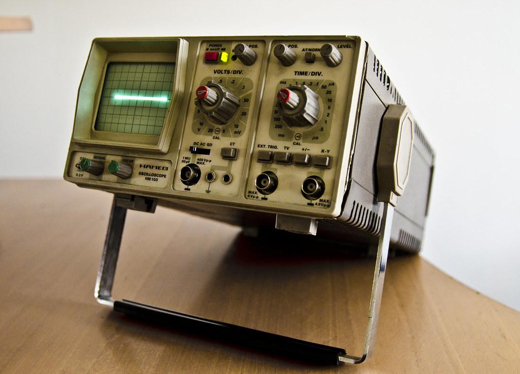 Old stuff - Hameg HM 103 oscilloscope | Nikon D5100 ...