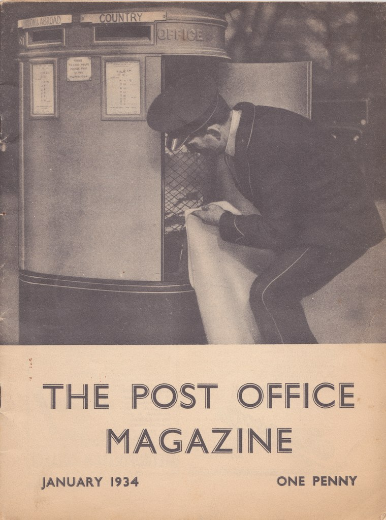 the post office magazine - january 1934  volume 1