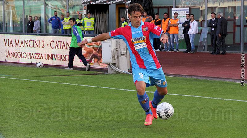 Emanuele Calaiò, al Catania nella stagione 2014-15