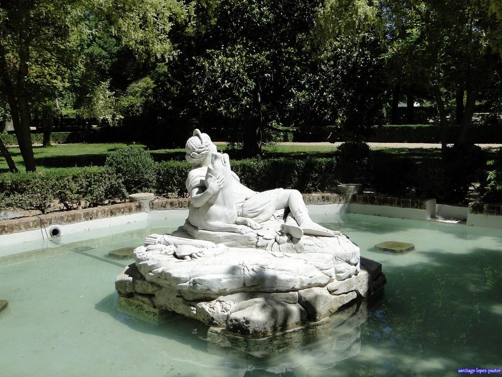 Fuente de diana jard n de la isla aranjuez la fuente for El jardin de aranjuez