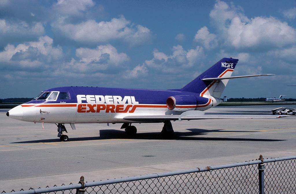 n23fe dassault falcon 20c federal express fedex quotkri