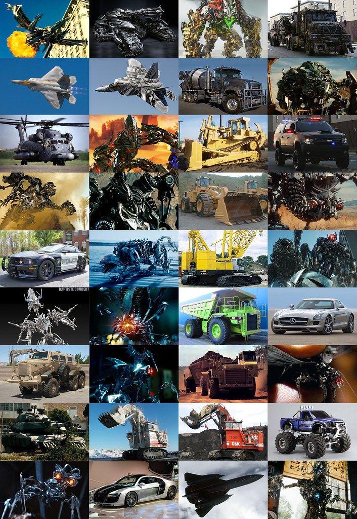 Transformers Movies All Main Decepticons Vehicles Cars Pla ...