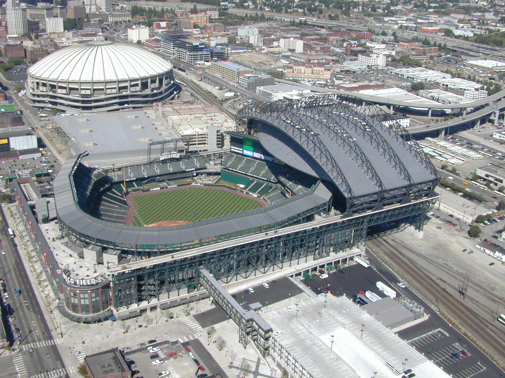 Kingdome and Safeco Field, 1999 | Item DSCN1561, A08-065 ...
