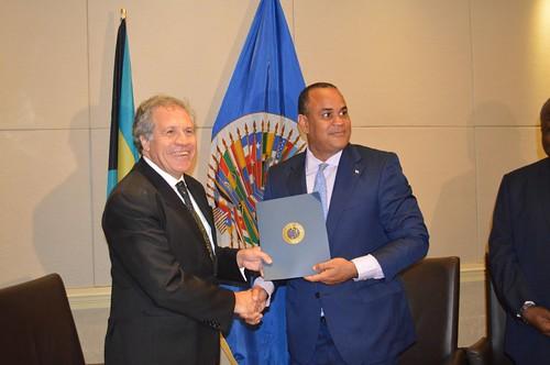 Resultado de imagen para LA OEA  BAHAMAS