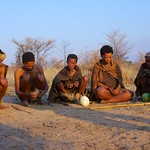Group of San Bushmen
