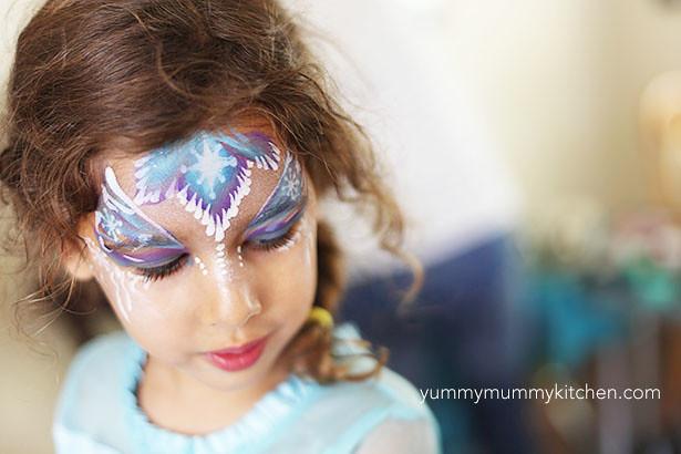 Mafa Elsa Face Paint