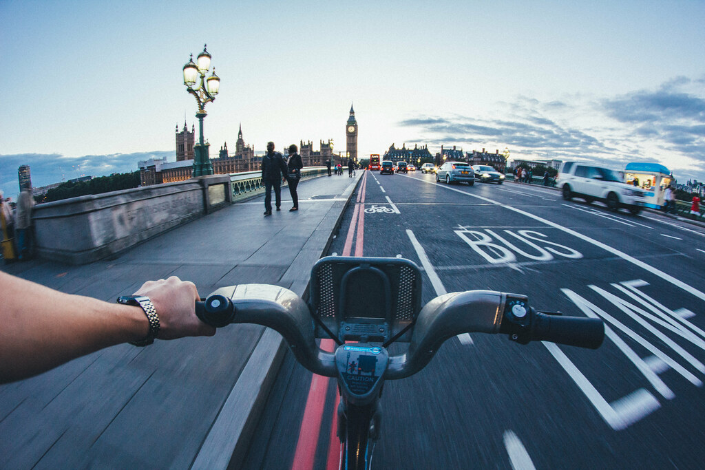 London bike ride