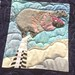 Zoo Holiday~ Hippopotamus Detail~Quilt by Nancy S Brown & The Bulbs