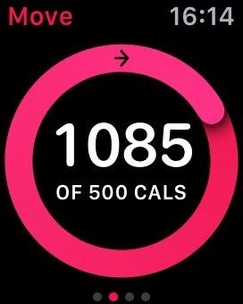 Watch Activity app - Move figure