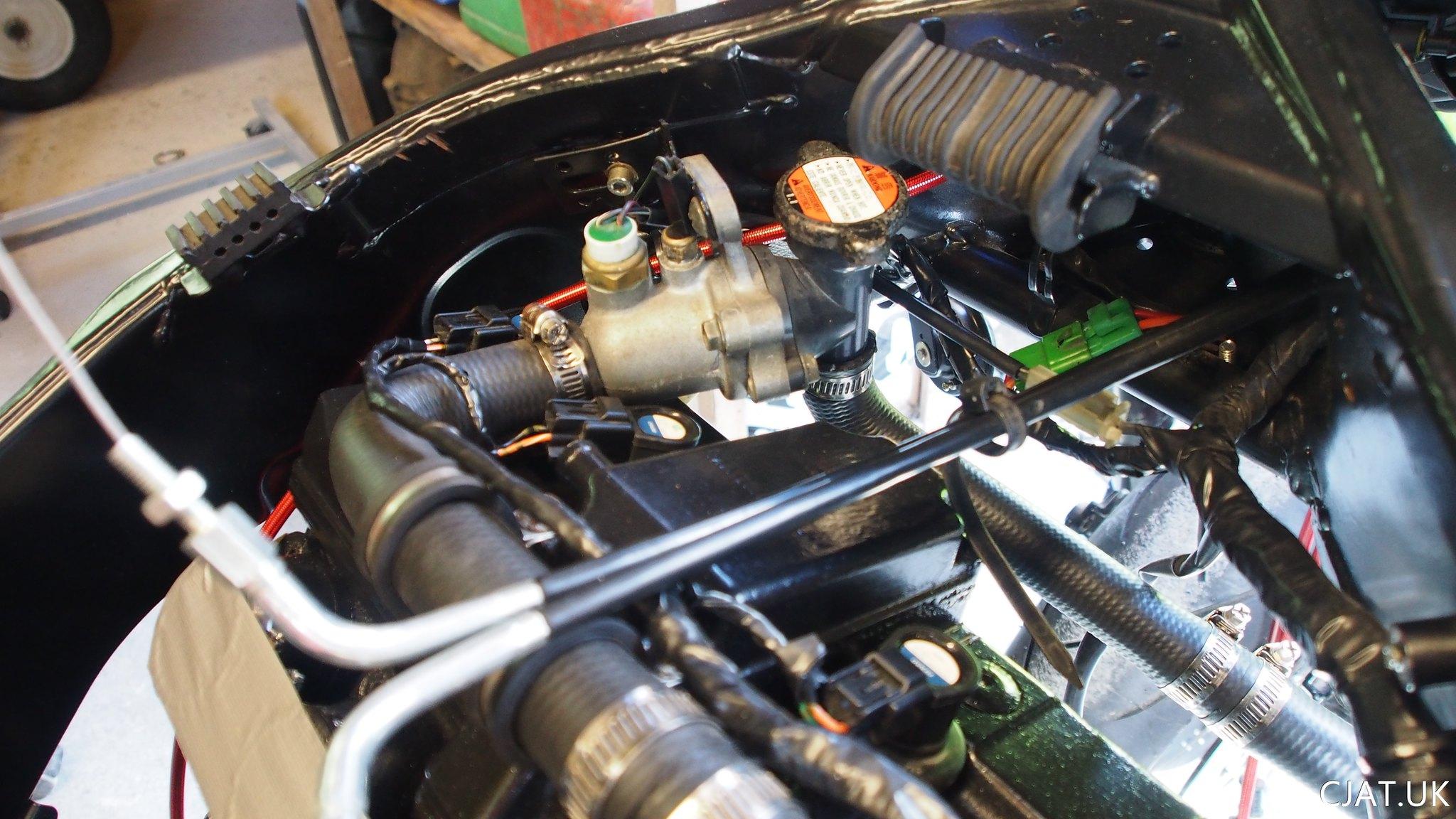 RF900 coolant mod