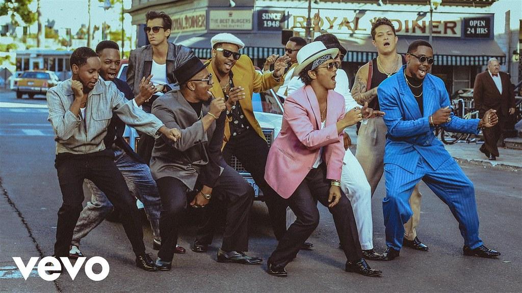 Mark Ronson featuring Bruno Mars. Uptown Funk