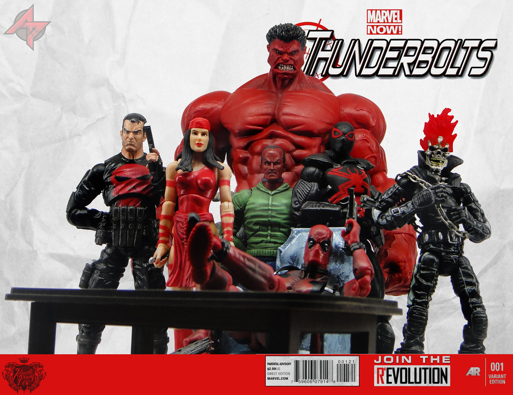 thunderbolts marvel now cover mockup where to get the