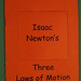Newton's Laws of Motion Window Book 1