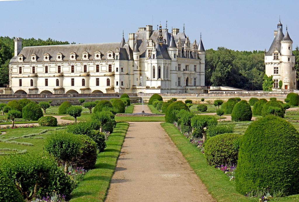 France 001649 Diane S Garden Amp Ch 226 Teau De Chenonceau