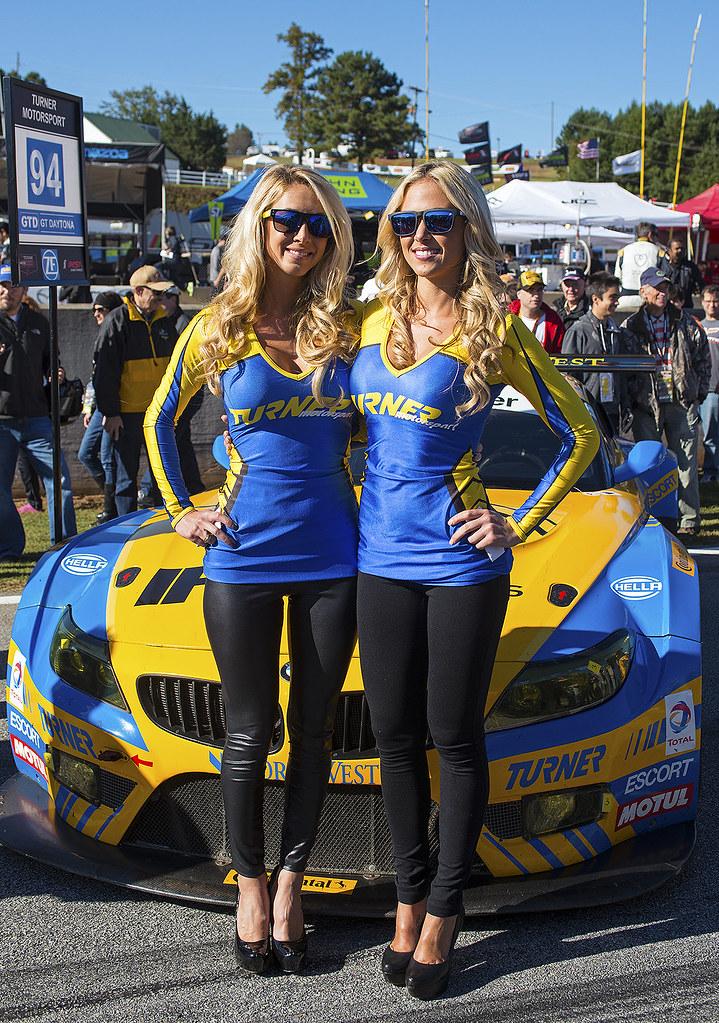 Turner Motorsport Promo Models With The Team S Bmw Z4 Flickr