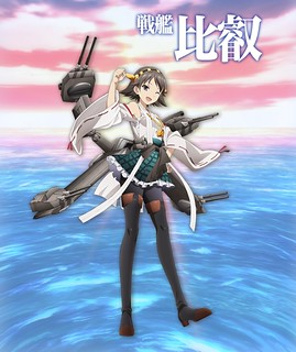 141027(1) - 戰艦比叡、任務娘、重雷丼(誤)第4批艦娘出爐、電視動畫《艦これ》將於2015年1月放送!【11/7更新】