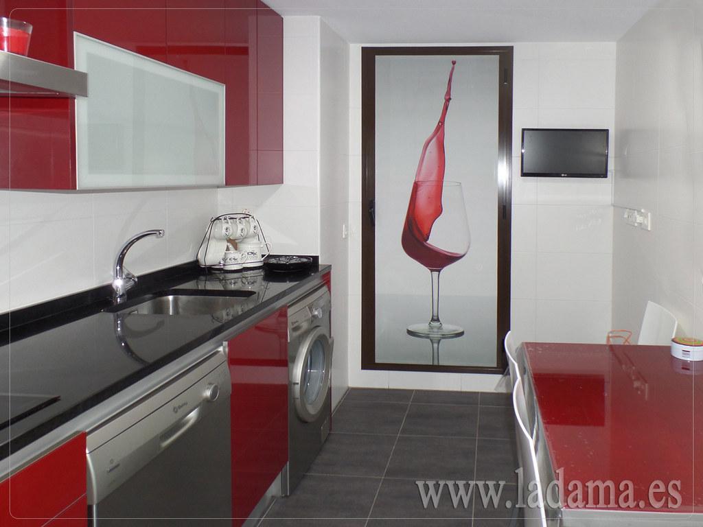 Personaliza las cortinas de tu cocina screen con estampac flickr - Cortinas screen cocina ...