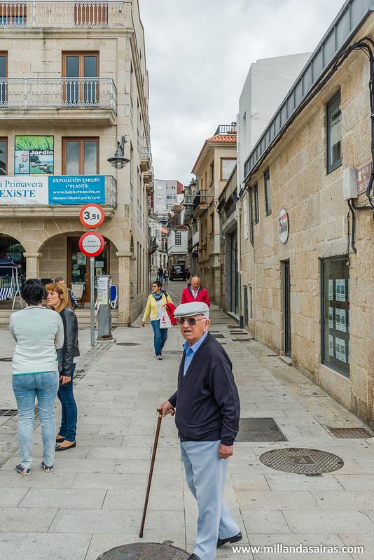 Subida de la Calle Real que lleva a la Excolegiata