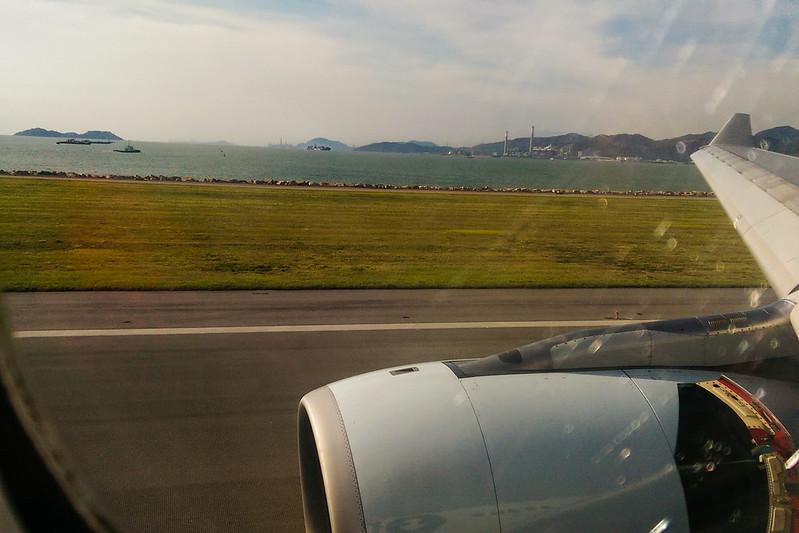 HKG Landing