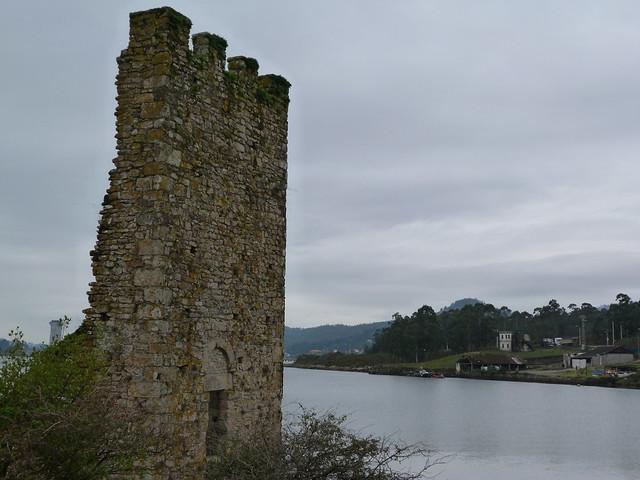 Ruinas de Torres de Catoira (Galicia)