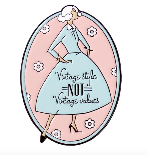vintage style not vintage values pin kate gabrielle