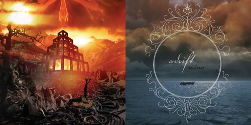 Cover art for Shrinebuilder and Adrift