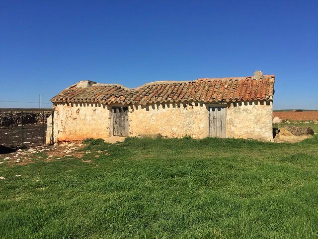La casa de Quiteria en el término municipal de El Bonillo (Albacete)