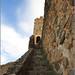 Escaleras de subida a Torre Homenaje y alemnas