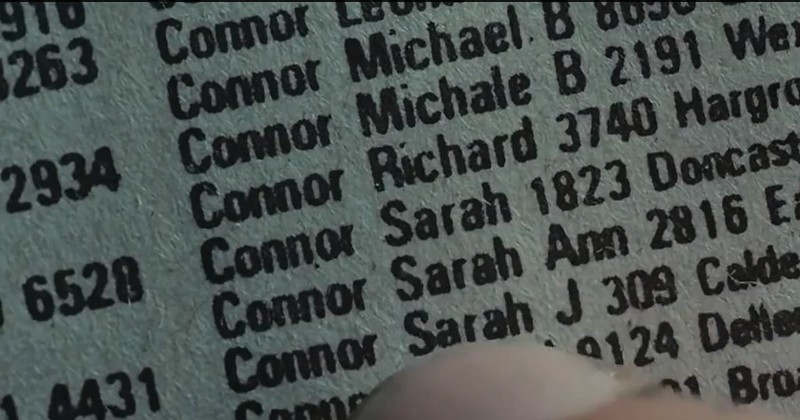 street address for sarah connor no1 doesnt match