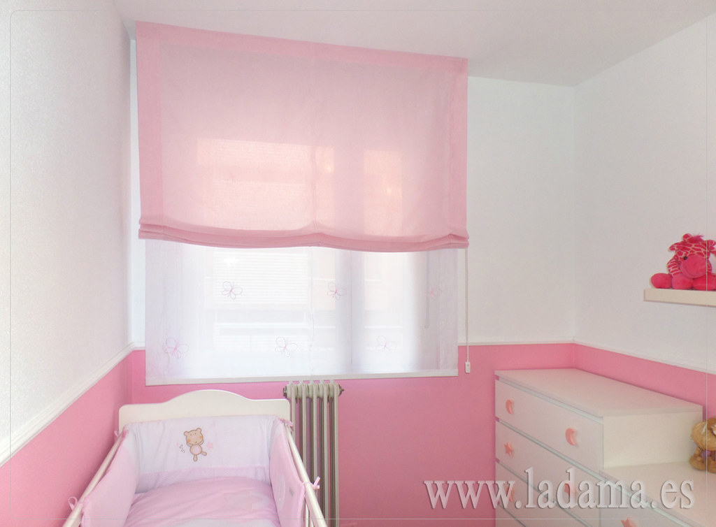 Habitaci n infantil estores paqueto m s informaci n en for Cortinas y estores para dormitorios