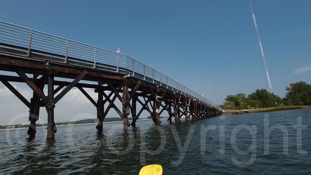 High Island Bridge Long Island Sound Bronx New York Cit