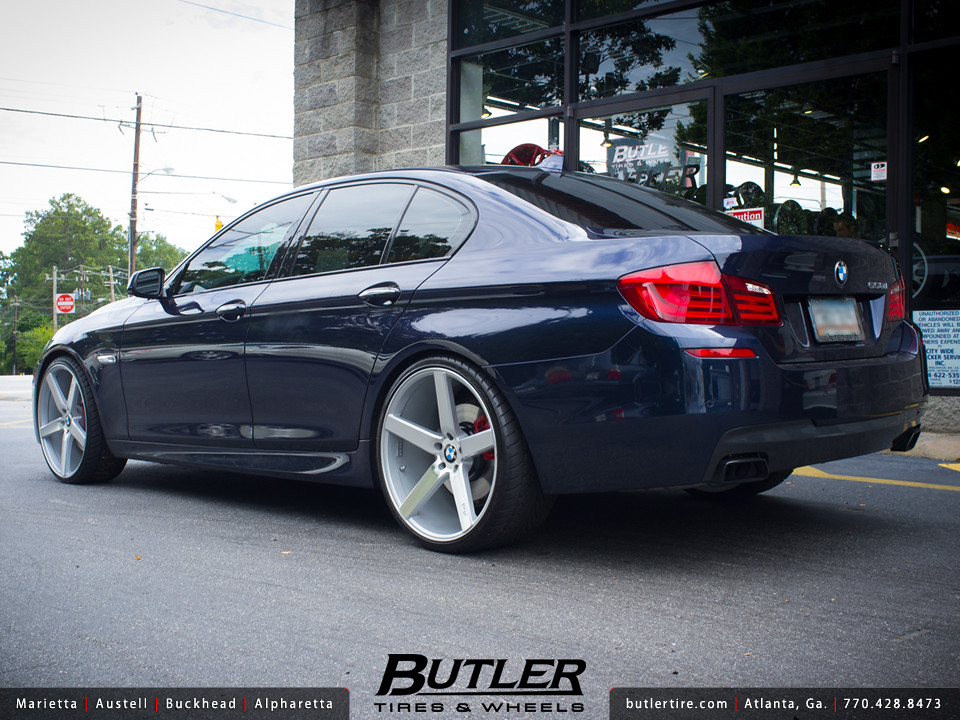 Bmw 550i With 22in Niche Milan Wheels Additional Picture
