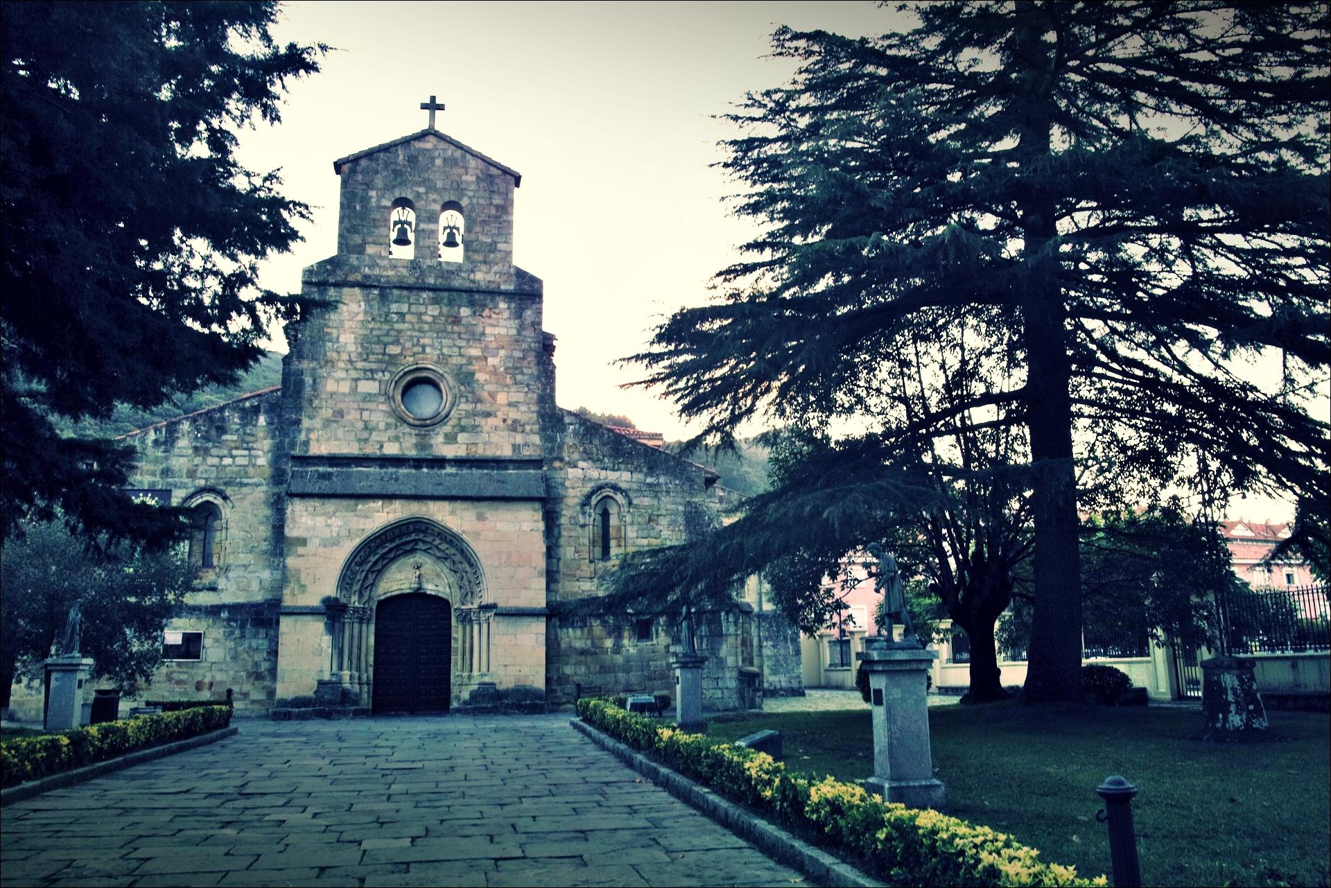 성당-'카미노 데 산티아고 북쪽길. 산토냐에서 노하. (Camino del Norte - Santoña to Noja)'