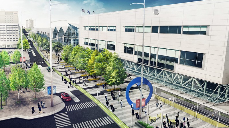 New Orleans Ernest N Morial Convention Center Moves Forward With: Map New Orleans Morial Convention Center At Usa Maps
