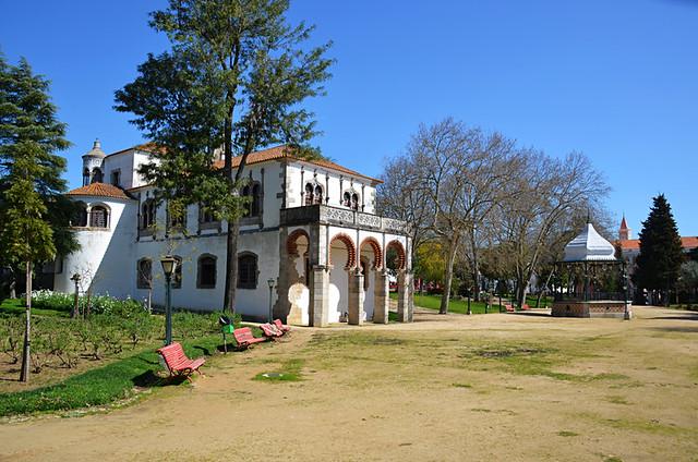 Public gardens, Evora, Portugal