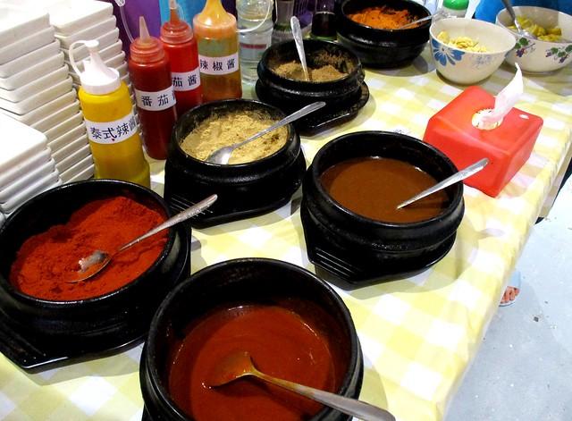 Daksemari Korean BBQ dips