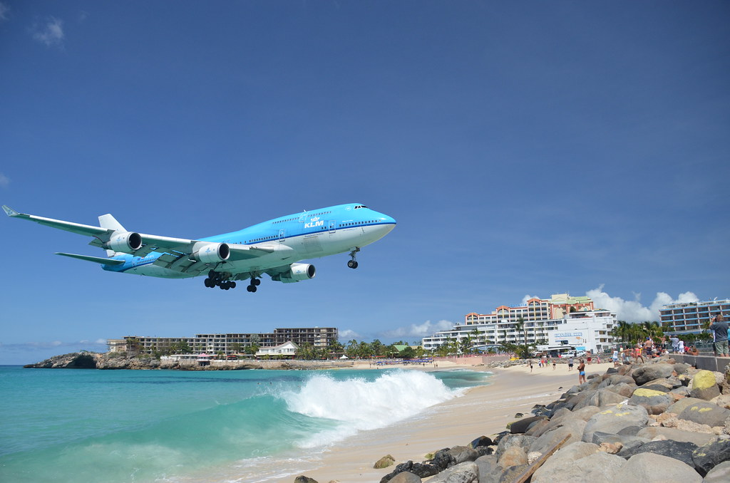 Maho Beach St Maarten Map