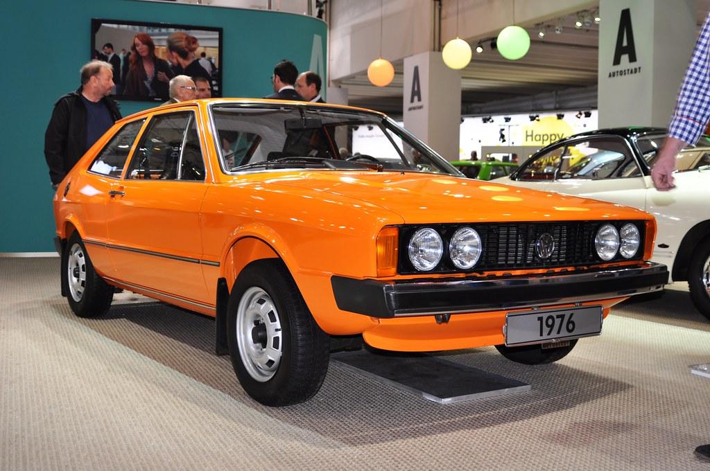 Orange On Volkswagen Scirocco Ts 1976 Design