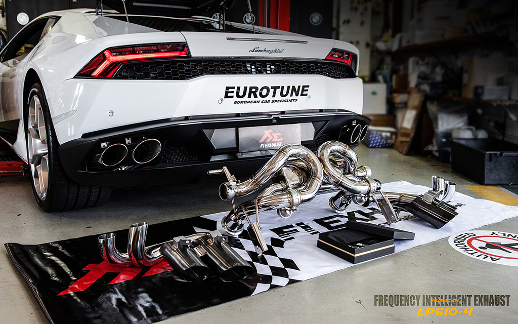 lamborghini huracan lp610 fitted with fi exhaust installat. Black Bedroom Furniture Sets. Home Design Ideas