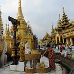 Sule pagoda Yangon Minyamar