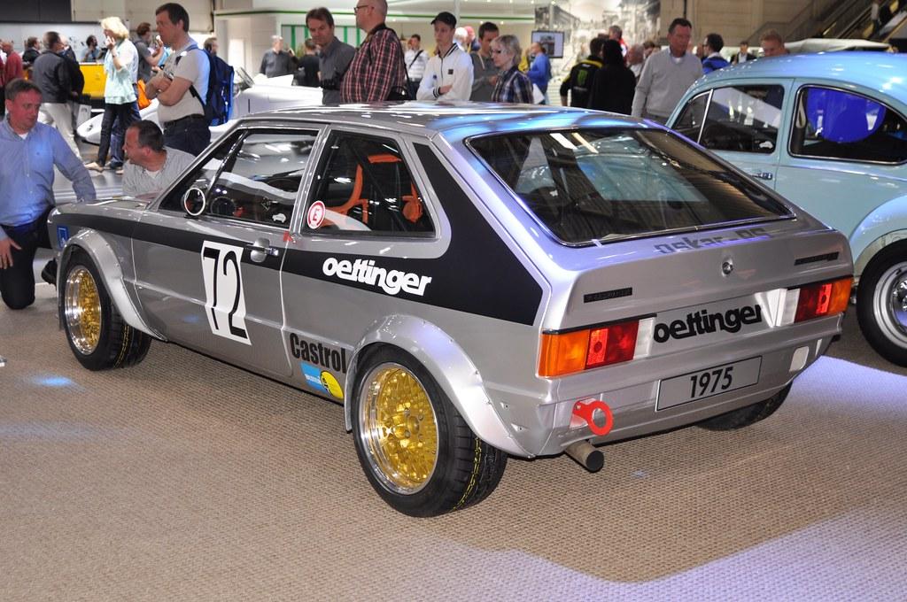 Volkswagen Scirocco Group 2 Oettinger 1975 Design