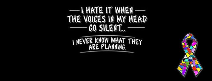 Image result for voices in the head